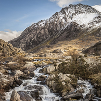 Buy canvas prints of All Paths Lead to Tryfan by Christine Smart