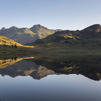 Buy canvas prints of Langdale Pikes by Richard Berry