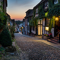 Buy canvas prints of Beautiful Cobble Street by Helen Hotson