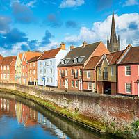 Buy canvas prints of Norwich in Norfolk by Helen Hotson