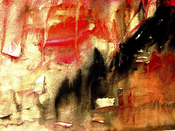 abstract background painting Canvas print by dt kutoo