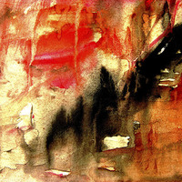 Buy canvas prints of abstract background painting by dt kutoo
