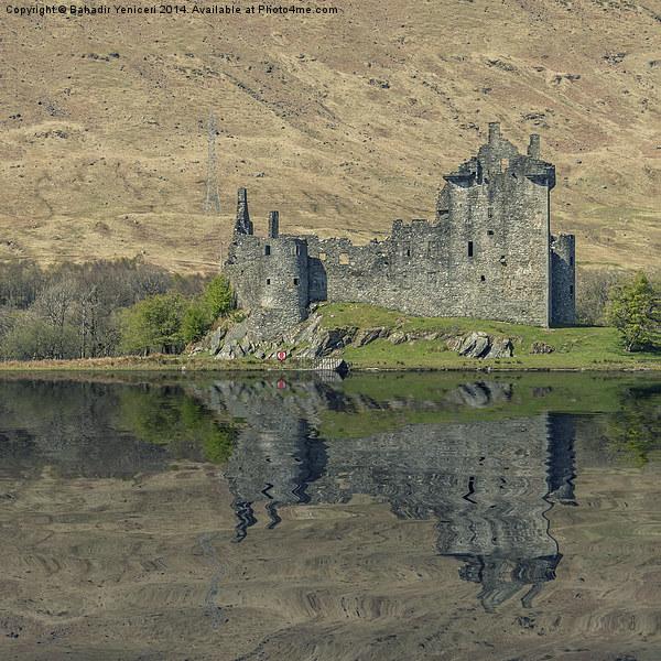 Kilchurn Castle Framed Mounted Print by Bahadir Yeniceri