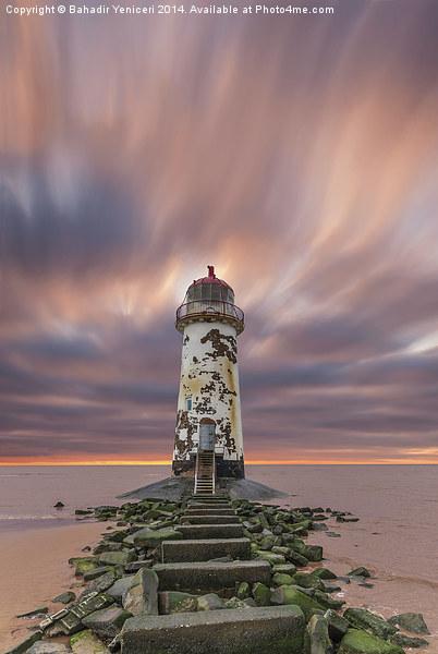 Deserted Lighthouse Canvas print by Bahadir Yeniceri