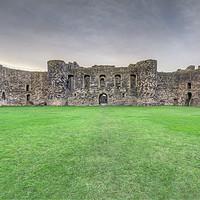 Buy canvas prints of Beaumaris Castle by Bahadir Yeniceri