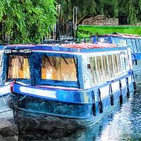 Buy canvas prints of Fancy a boat trip? by Neil Porter