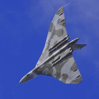 Buy canvas prints of Vulcan bomber by Colin Porteous