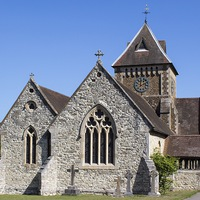 Buy canvas prints of Village church by Colin Porteous