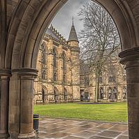 Buy canvas prints of Glasgow University ThroughThe Archway by Antony McAulay