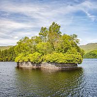 Buy canvas prints of Loch Katrine Factors Isle by Antony McAulay