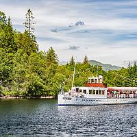 Buy canvas prints of Loch Katrine Steamship by Antony McAulay