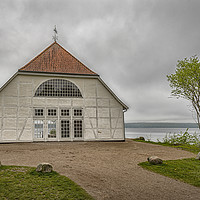 Buy canvas prints of Fredensborg Palace Boathouse by Antony McAulay