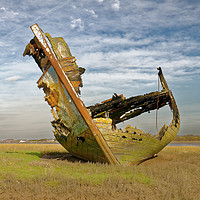 Buy canvas prints of Fleetwood Wreck by Mike Janik
