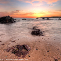 Buy canvas prints of Freshwater West by Mark Robson