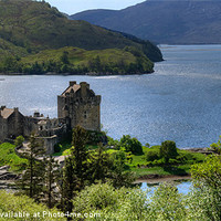 Buy canvas prints of Eilean Donan Castle by Mark Robson
