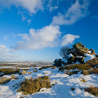 Buy canvas prints of Celtic Snow by Mark Robson