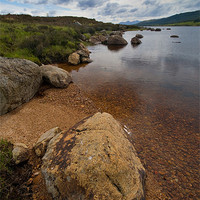 Buy canvas prints of Loch Laidon by Mark Robson