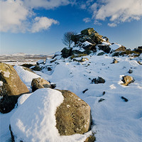 Buy canvas prints of On The Ridge by Mark Robson