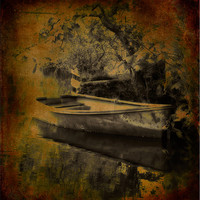 Buy canvas prints of By The Lake by Mark Robson