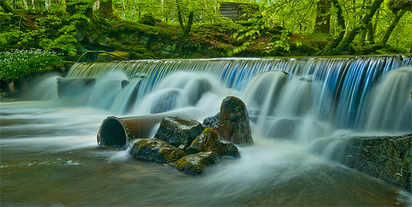 The Weir Print by Mark Robson