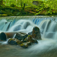 Buy canvas prints of The Weir by Mark Robson