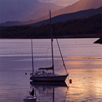 Buy canvas prints of Loch Leven by Mark Robson