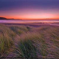 Buy canvas prints of Freshwater East by Mark Robson