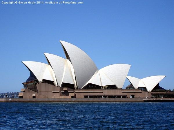 Sydney Opera House Canvas print by Gwion Healy