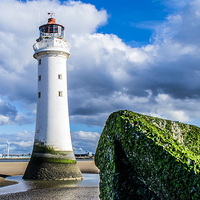 Buy canvas prints of Perch Rock by Mark  Clair