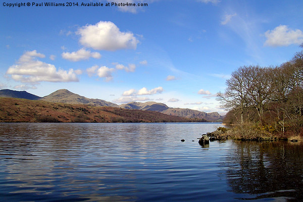 Coniston Water, Lake District. Canvas Print by Paul Williams