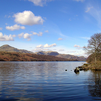 Buy canvas prints of Coniston Water, Lake District. by Paul Williams