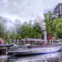 "Buy canvas prints of  Steamship ""Sir Walter Scott"" by Paul Williams"