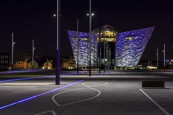 Titanic Building Belfast - Northern Ireland Canvas print by Chris Curry