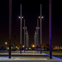 Buy canvas prints of Titanic Slipway Belfast Northern Ireland  by Chris Curry