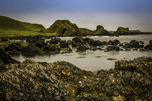 Ballintoy Antrim Coast Northern Ireland Framed Mounted Print by Chris Curry