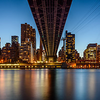 Buy canvas prints of 59th Street Bridge Midtown Mahattan New York City by Chris Curry