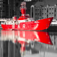Buy canvas prints of Red BAR Boat by Steve Buck