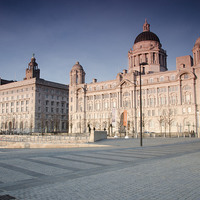 Buy canvas prints of LIverpool Graces by Steve Buck