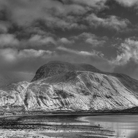 Buy canvas prints of  Ben Nevis, Fort William, Scotland by ALBA PHOTOGRAPHY
