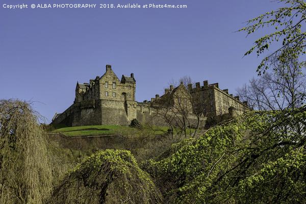 Edinburgh Castle, Edinburgh, Scotland Canvas print by ALBA PHOTOGRAPHY