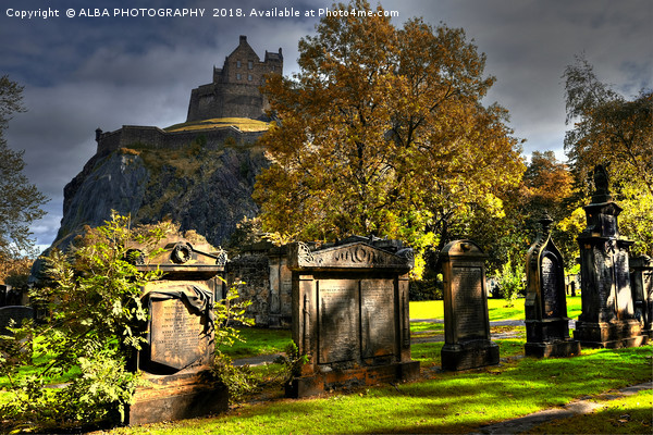 Edinburgh Castle, Scotland  Canvas print by ALBA PHOTOGRAPHY