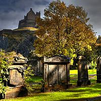 Buy canvas prints of Edinburgh Castle, Scotland  by ALBA PHOTOGRAPHY