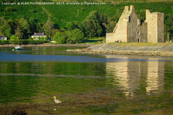 Lochranza Castle, Isle of Arran, Scotland Canvas print by ALBA PHOTOGRAPHY