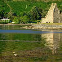 Buy canvas prints of Lochranza Castle, Isle of Arran, Scotland by ALBA PHOTOGRAPHY