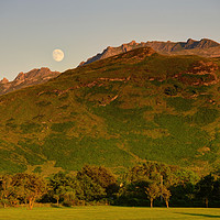 Buy canvas prints of The Sleeping Warrior, Isle of Arran, Scotland by ALBA PHOTOGRAPHY