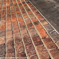 Buy canvas prints of Yard of Bricks - Indianapolis Motor Speedway Finish Line by Stephen Stookey