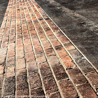 Buy canvas prints of Yard of Bricks - Finish Line at Historic Indianapolis Motor Speedway by Stephen Stookey
