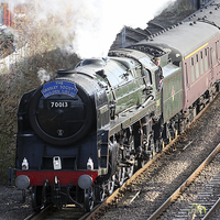 Buy canvas prints of Oliver Cromwell arrives in Lincoln by Tim  Senior
