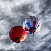 Buy canvas prints of  Balloons by sean clifford