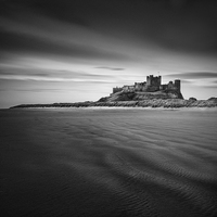 Buy canvas prints of Bamburgh Castle by Ian Barber